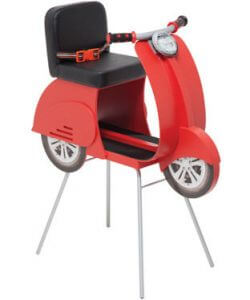 кресло Vespabike 250x300 - Детские кресла для салонов красоты. Цены и характеристики.