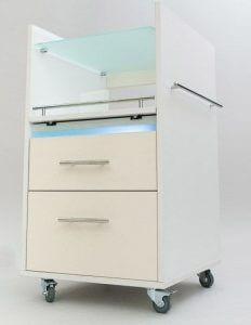 тележка Кубика ZM2562 232x300 - Инструкция по выбору педикюрных тележек