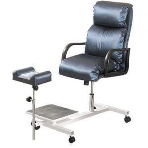Кресло для педикюра с подставкой