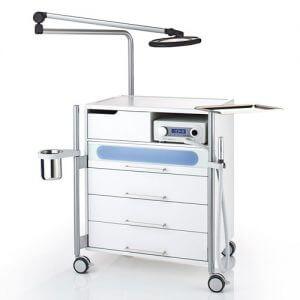 тележка стол Ionto Pedo 300x300 - Педикюрные тумбы. Обзор моделей и производителей
