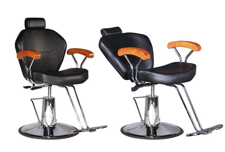 Регулируемое парикмахерское кресло