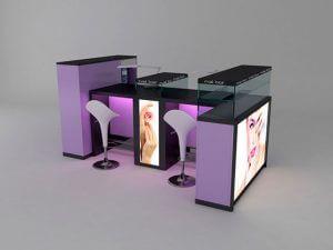 nejl bar 4 300x225 - Готовые решения для маникюрного кабинета