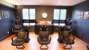 Расположение парикмахерской мойки