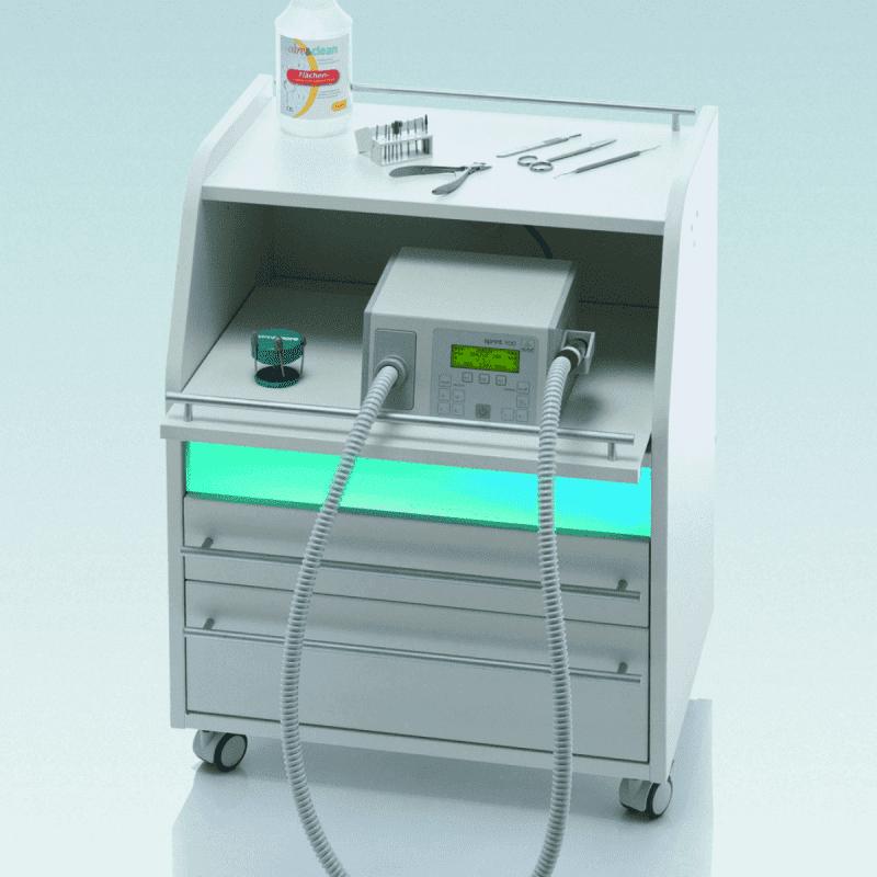 Secretario педикюрная тумба с УФ боксом - Обзор и рейтинг педикюрных тумб с UV