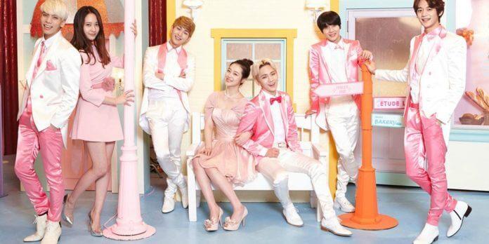 1 - Розовые домики ETUDE НОUSE