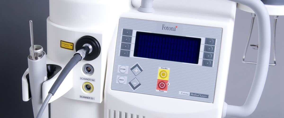 Фракционный лазер Fotona