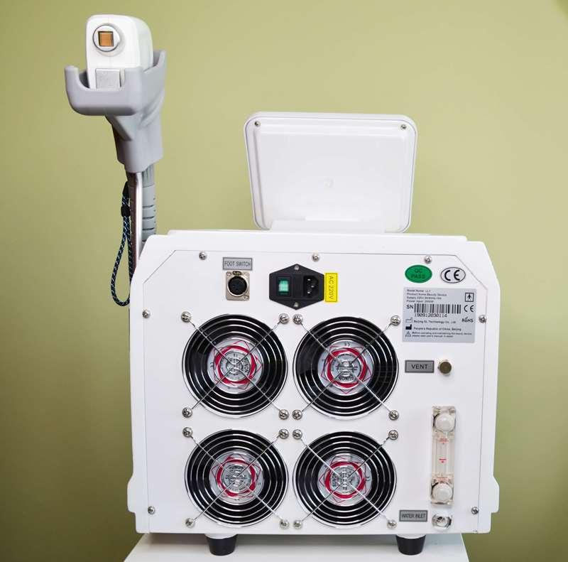 01 - Обзор аппарата для лазерной эпиляции LL1