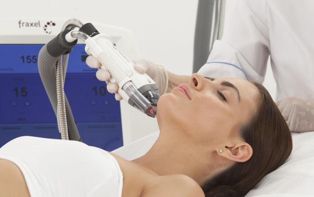 fraxel021 1024x644 - Фраксель — лазерная терапия и омоложение кожи лица