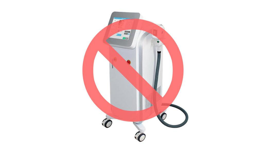 Ne kachstvennyie lazeryi dlya epilyatsii - Аппараты лазерной эпиляции, которые не стоит покупать